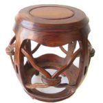 A case study in provenance: Huanghuali Drum Stools