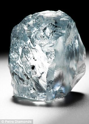122 carat blue diamond