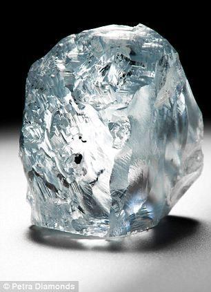 122 carat blue diamond