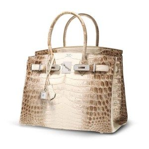 One of the expensive Hermes crocodile himalayan birkin bag featured by New Bond Street Pawnbrokers, an elite London Pawnbroker having their main London pawn shop on Bond Street