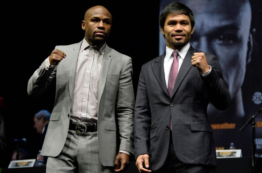 Mayweather Pac press conference