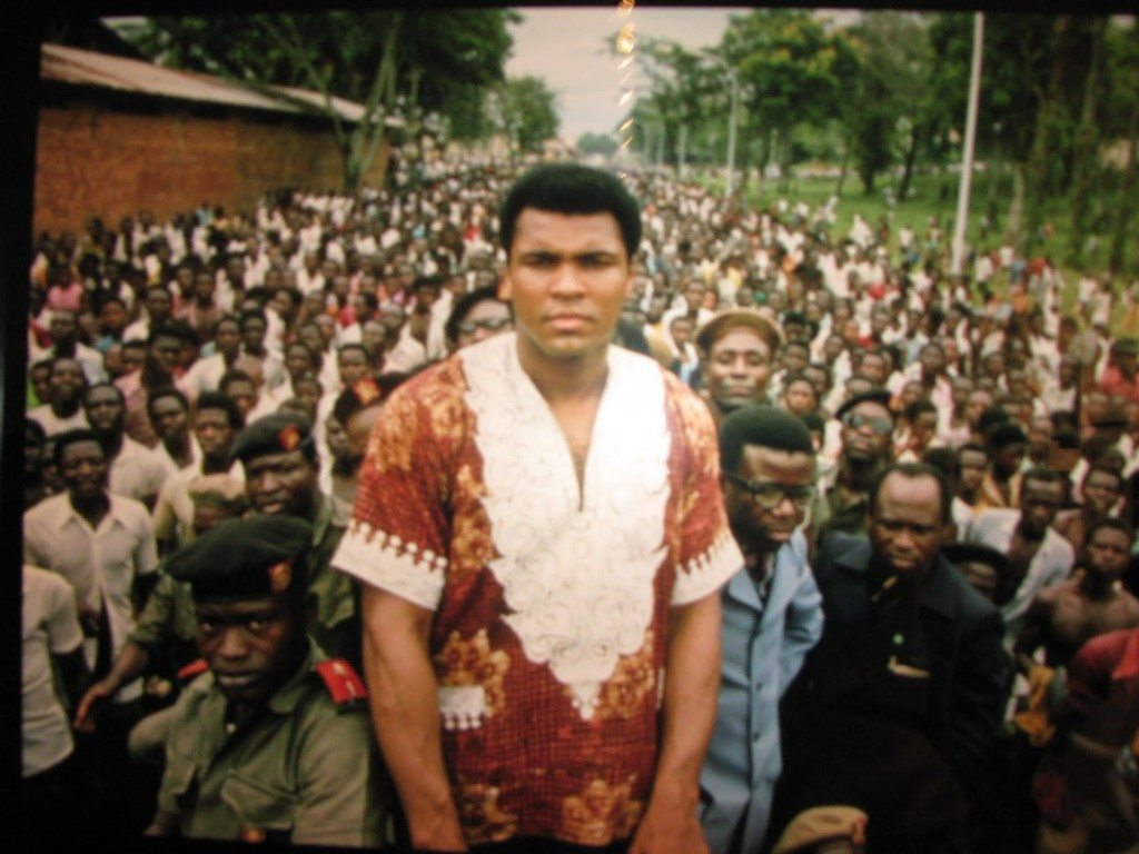 Ali before rumble in the jungle