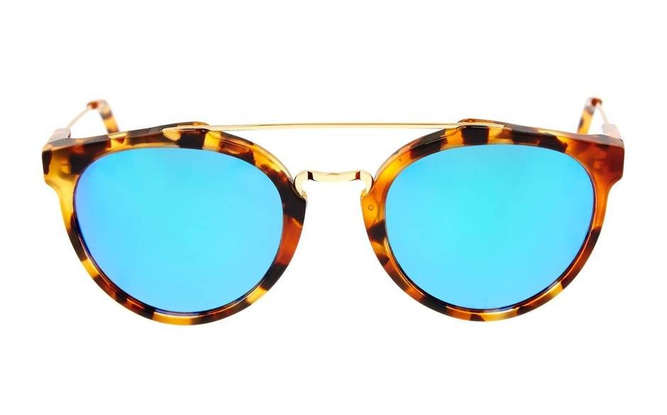 Gianguaro Cove sunglasses, the site champions links to iconic superstars like Andy Warhol, with an emphatically modern twist. For £190.