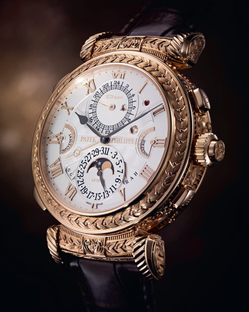 The Pateke Phillipe Grandmaster Chime watch featured by New Bond Street Pawnbrokers, an elite London Pawnbroker having their main London pawn shop on Bond Street
