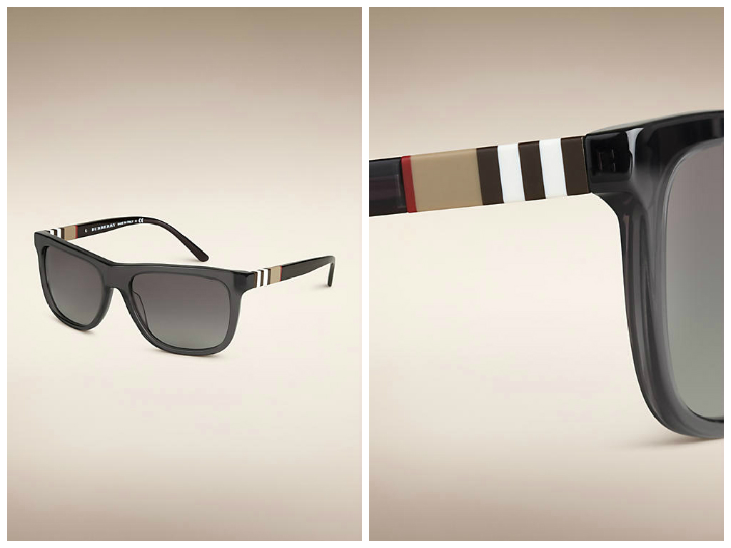 Classic and crafted designs, featuring the iconic Burberry check on temples, frames and lenses