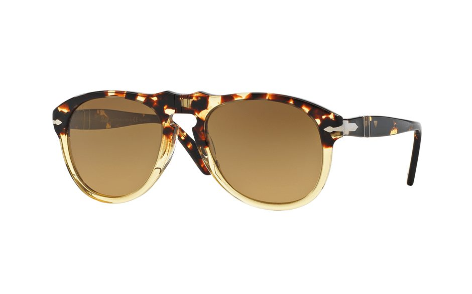 Persol Vintage Celebration sunglasses. Harping back to vintage styles with a modern twist is a consistent theme in mens luxury eyewear £240, davidclulow.com/