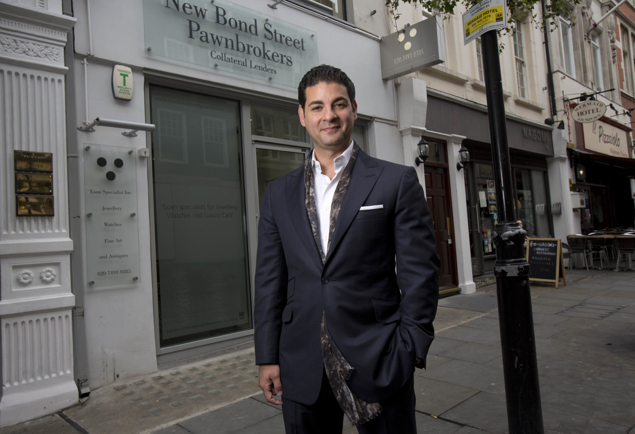 David Sonnenthal - Director Of New Bond Street Pawnbrokers, an elite London Pawnbroker having their main London pawn shop on Bond Street