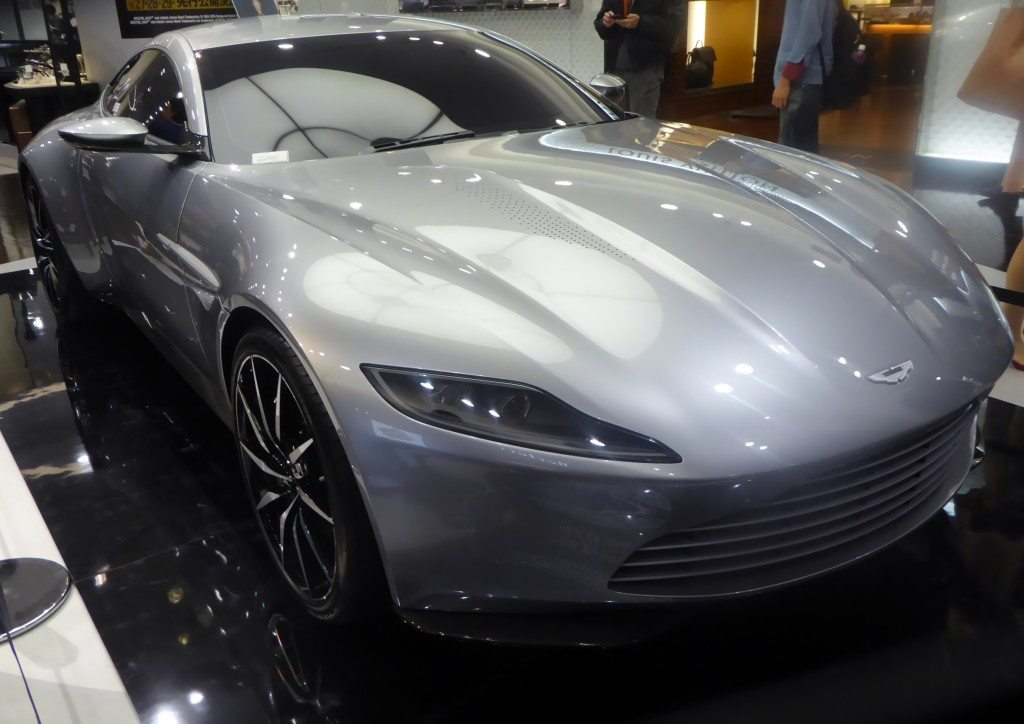 Bond's Aston Martin Sells For £2.4m At Christie's Charity