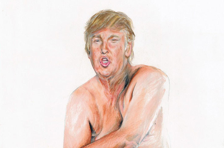 Picture of Donald Trump Art pice