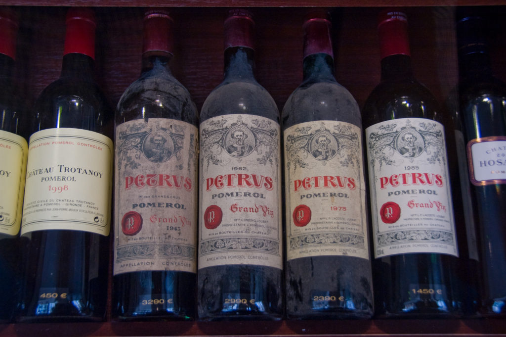 loans against petrus wine