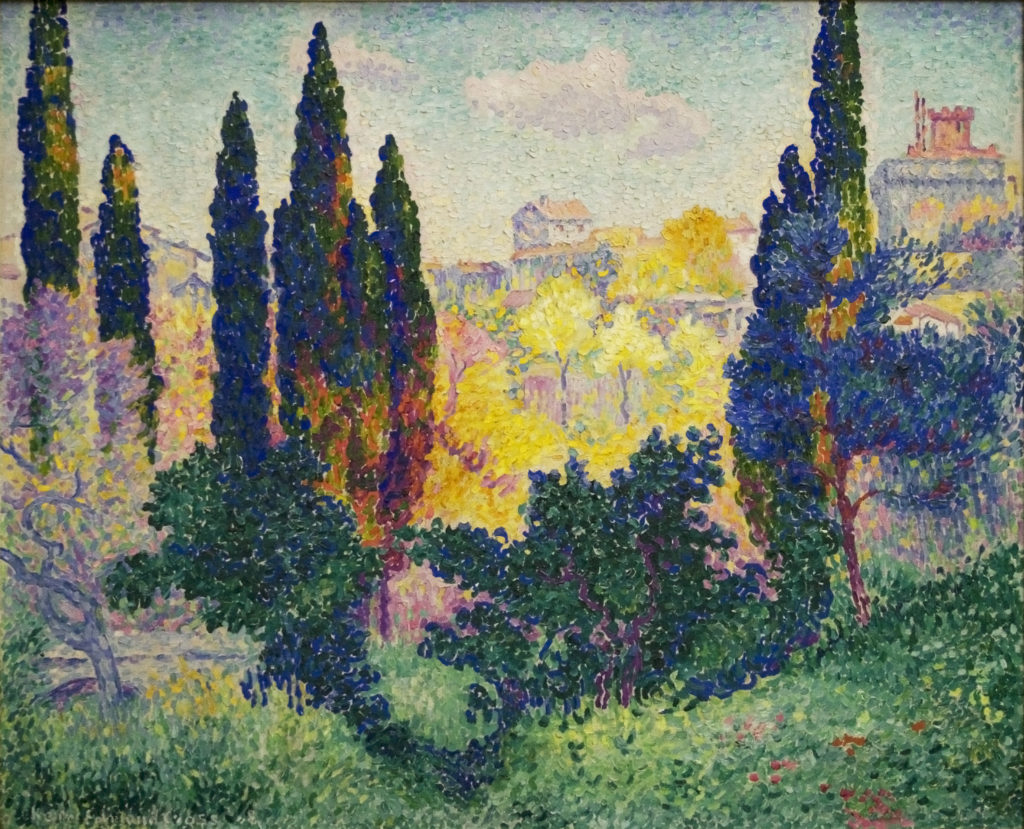 collateral loans against impressionist art
