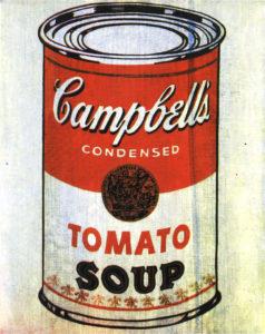 história do artista ícone Andy Warhol