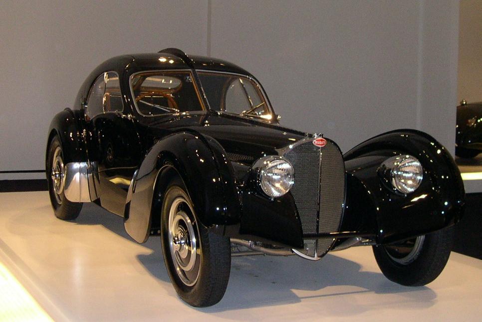 Loans against classic Bugatti cars