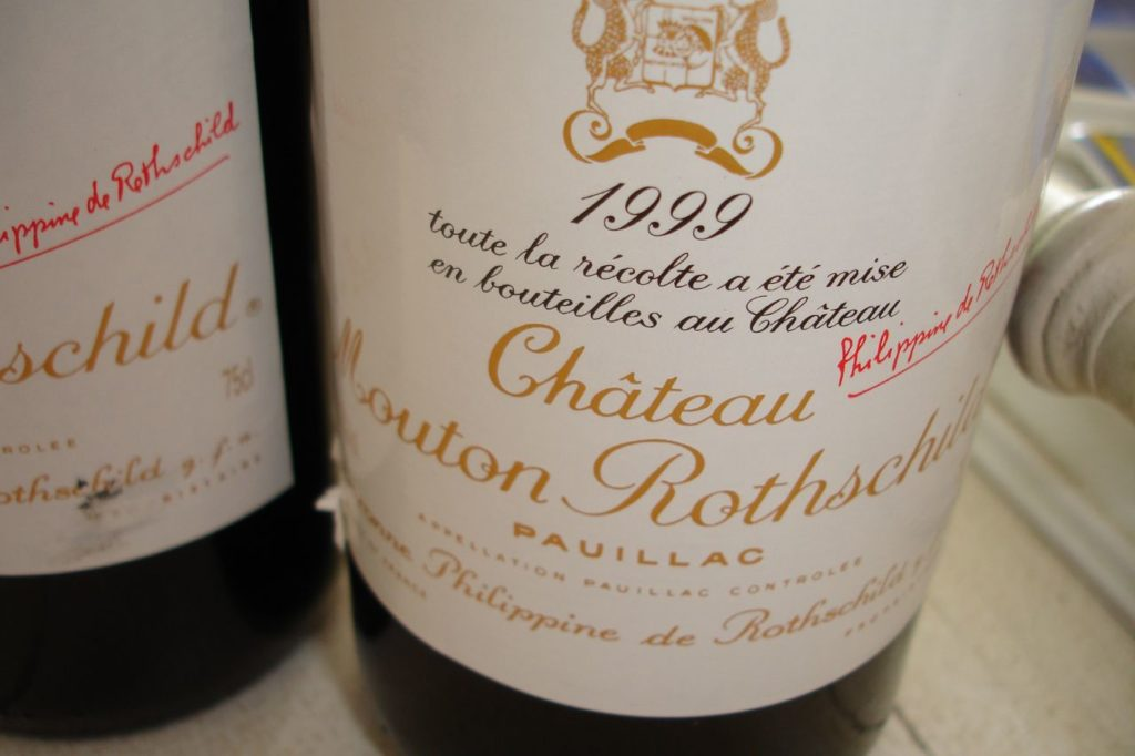 We pawn and provide loans on Chateau Mouton Rothschild wine