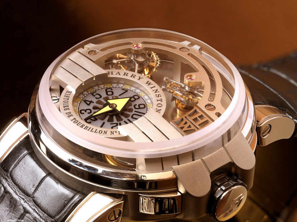 We pawn against and provide loans on Harry Winston Watches in London