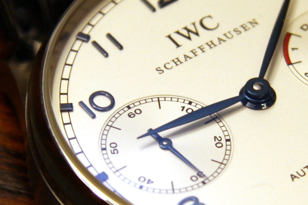 We pawn against and loan on IWC watches in London