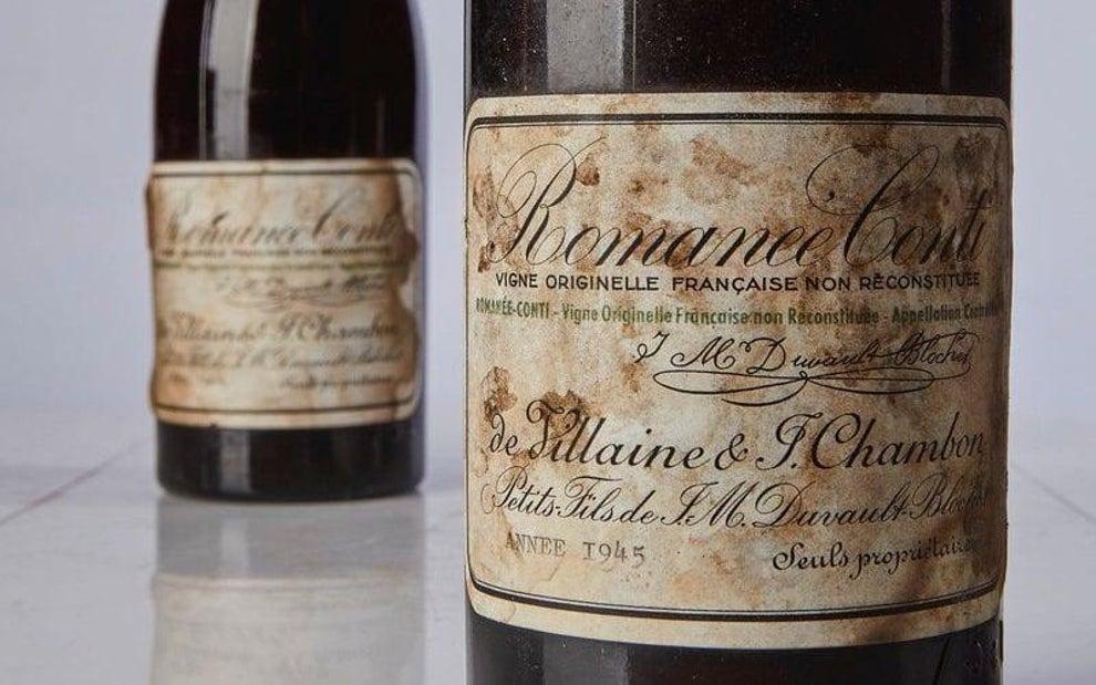 Una de las mejores botellas de vino para invertir en 2021