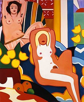 We loan on and pawn against Tom Wesselmann art & paintings