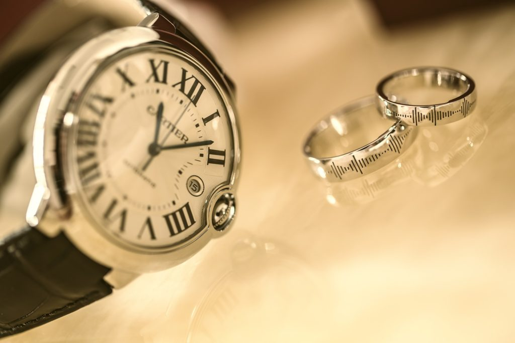 We pawn against and loan on Cartier watches in London