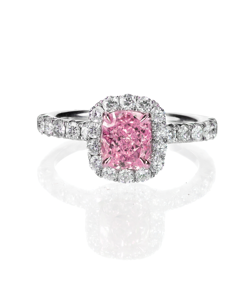 we loan on and pawn against jewelry as pink diamond rings