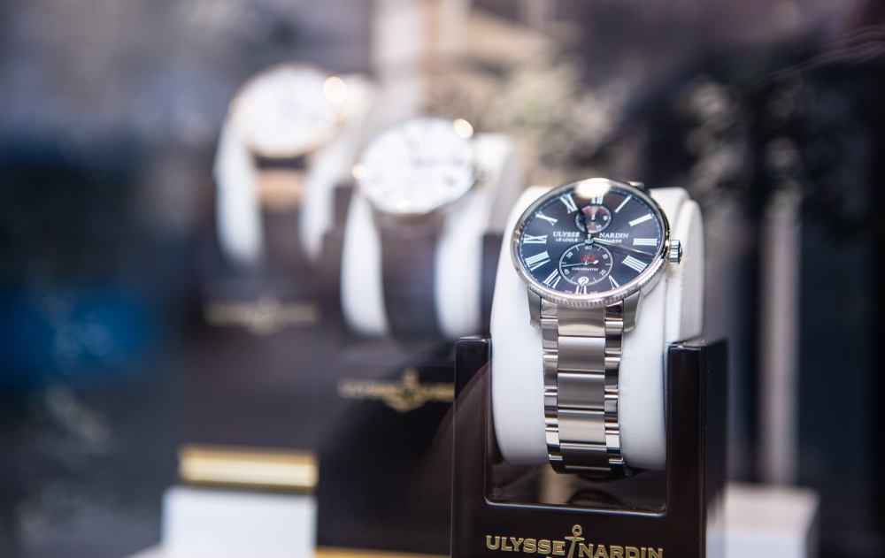 We loan on and pawn against Ulysse Nardin watches