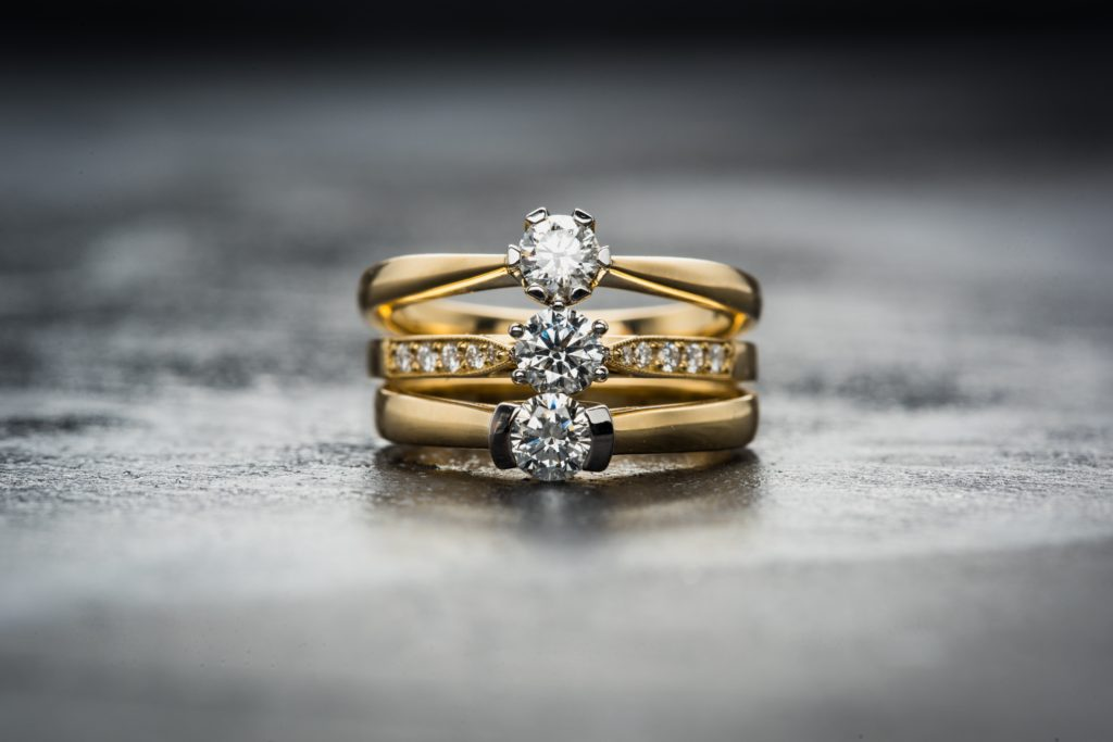 Examples of diamond rings that we loan against